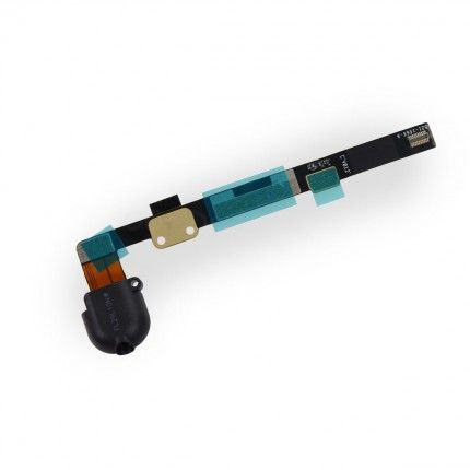 For iPad mini Audio Headphone Jack Flex Cable Replacement - Black #audioheadphones