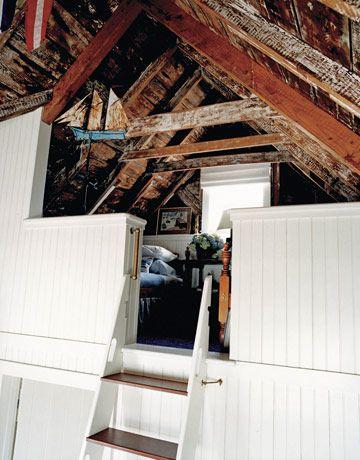 The Boating Life House Sleeping Loft Nantucket Cottage