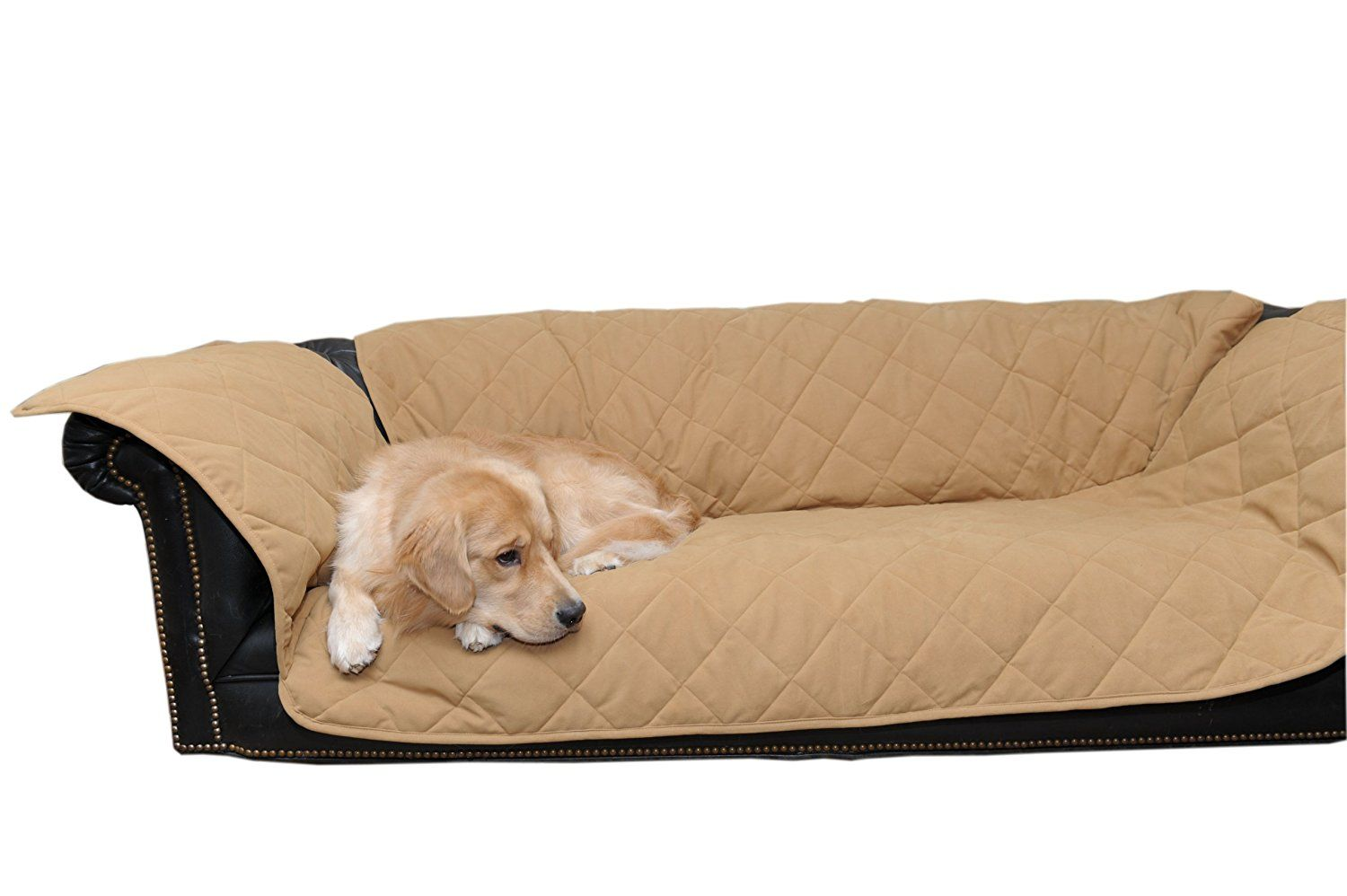 CPC Diamond Quilted Couch Protector For Dogs And Cats, 72 X 27 X 34-