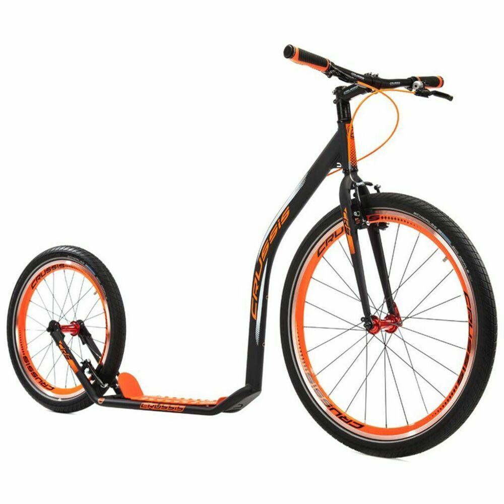 Ebay Sponsored Crussis Tretroller Schwarz Orange Scooter Kinderroller Cityroller Kickroller In 2019 Tretroller Roller Und Kinderfahrzeuge