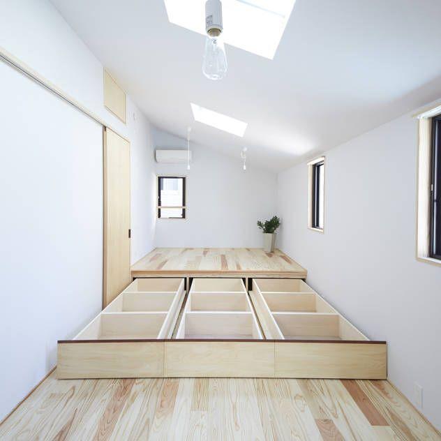 寝室のデザインアイデア・インスピレーション・写真 | 収納 ...