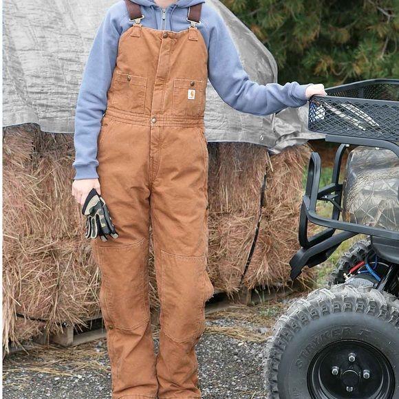 carhartt insulated bib overalls insulated bib overalls on insulated work overalls id=29893