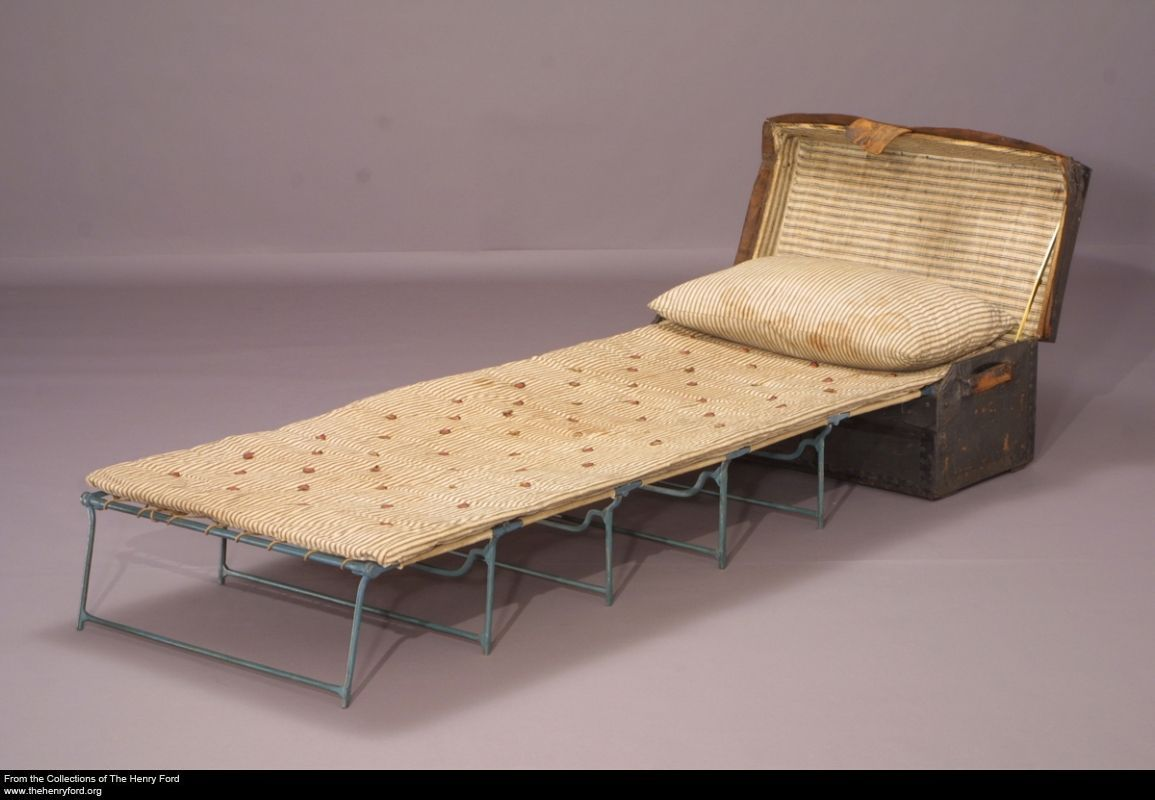 George Washington's Camp Bed, 1775-1780 | Revolution