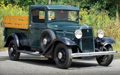 1934 Ford Pickup Hd Wallpaper Pickup Trucks Ford Pickup Old Pickup Trucks