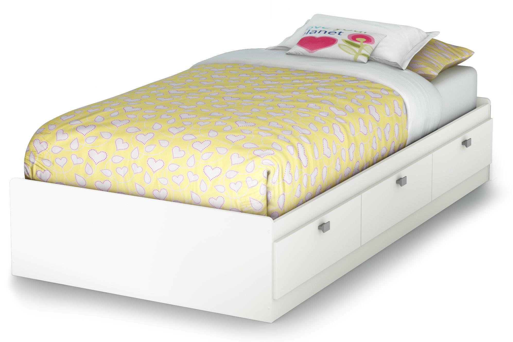 Ardin Twin Mate's & Captain's Bed Twin storage bed, Bed