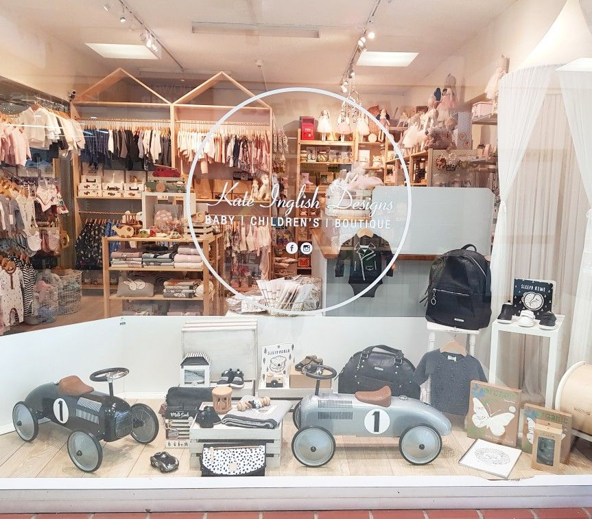 Pin by Kate Inglish Designs on Baby Nursery Shop window