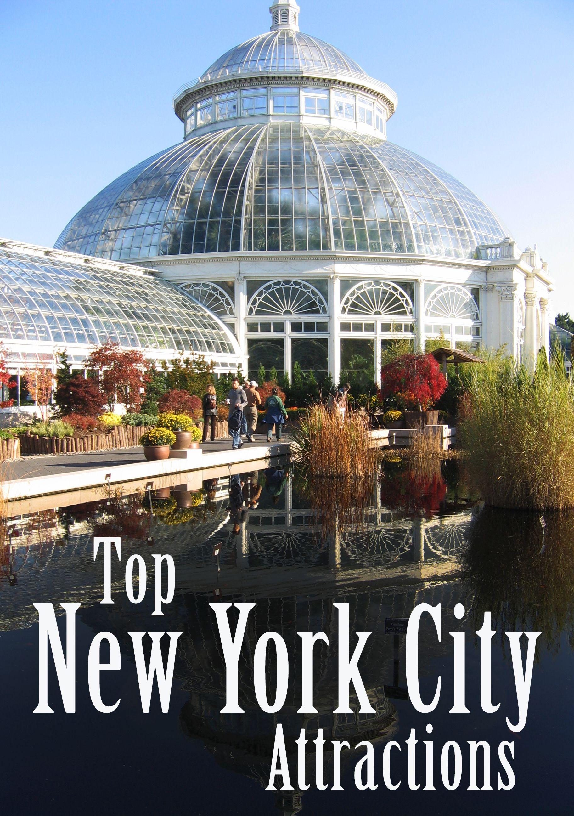 10 Top New York City Attractions #botanicgarden