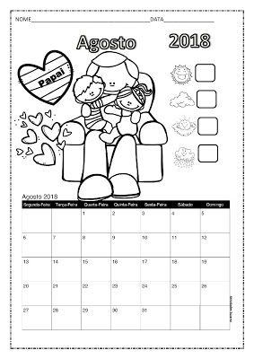 Calendario 2018 Em Pdf Atividades Pedagogica Suzano Atividades
