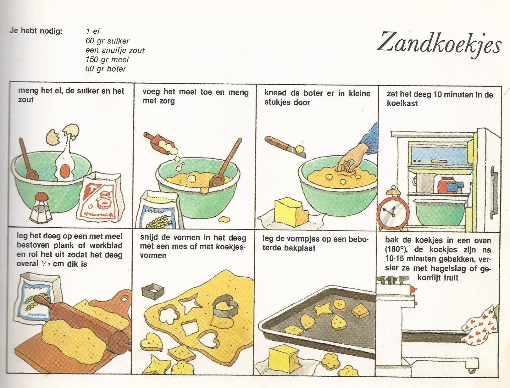 Betere zandkoekjes maken | Koken met kinderen, Zandkoekjes, Koken voor VE-16