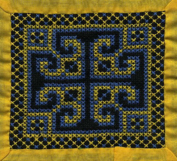 Hmong Embroidery Embroidery Others Border Pattern Diafora