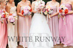 Different Coloured Bridesmaids