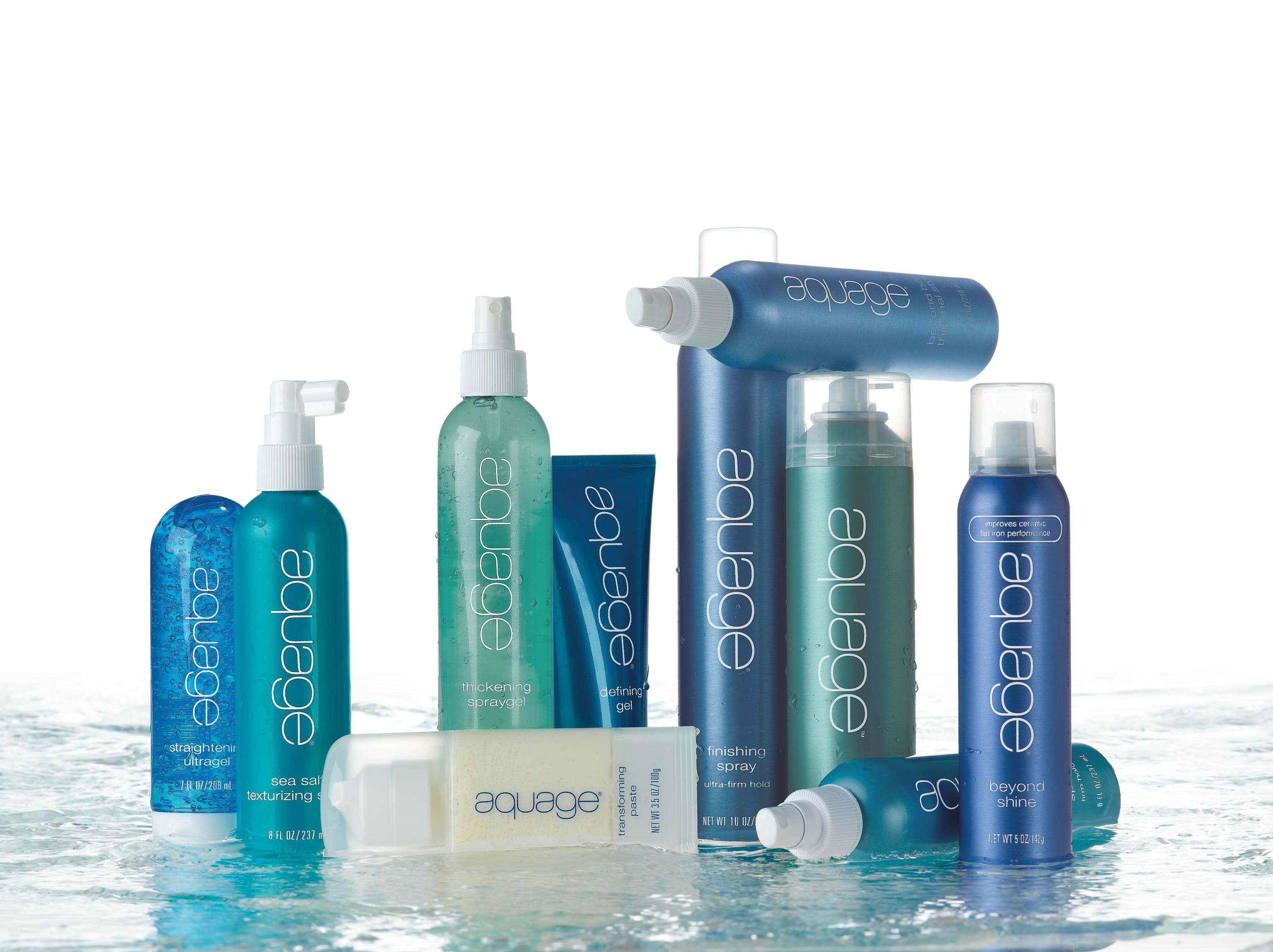 Aquage Hair Products..own the hairspray..love love love it