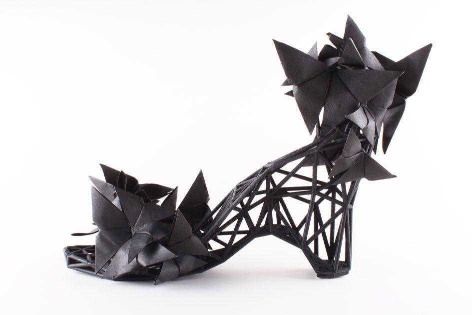 Ad #Frauentag ein paar #3d-gedruckte Schuhe. Schuhe selber drucken, das Paradies für #geekfrauen ;-)
