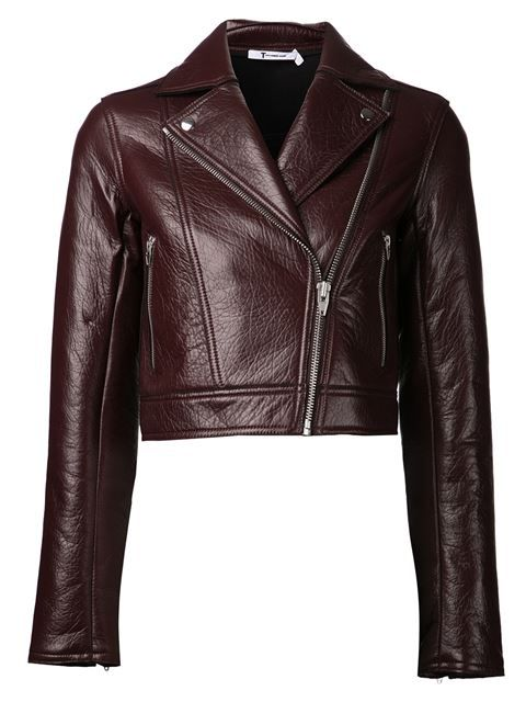 T By Alexander Wang Motorcycle Jacket - The Webster - Farfetch.com