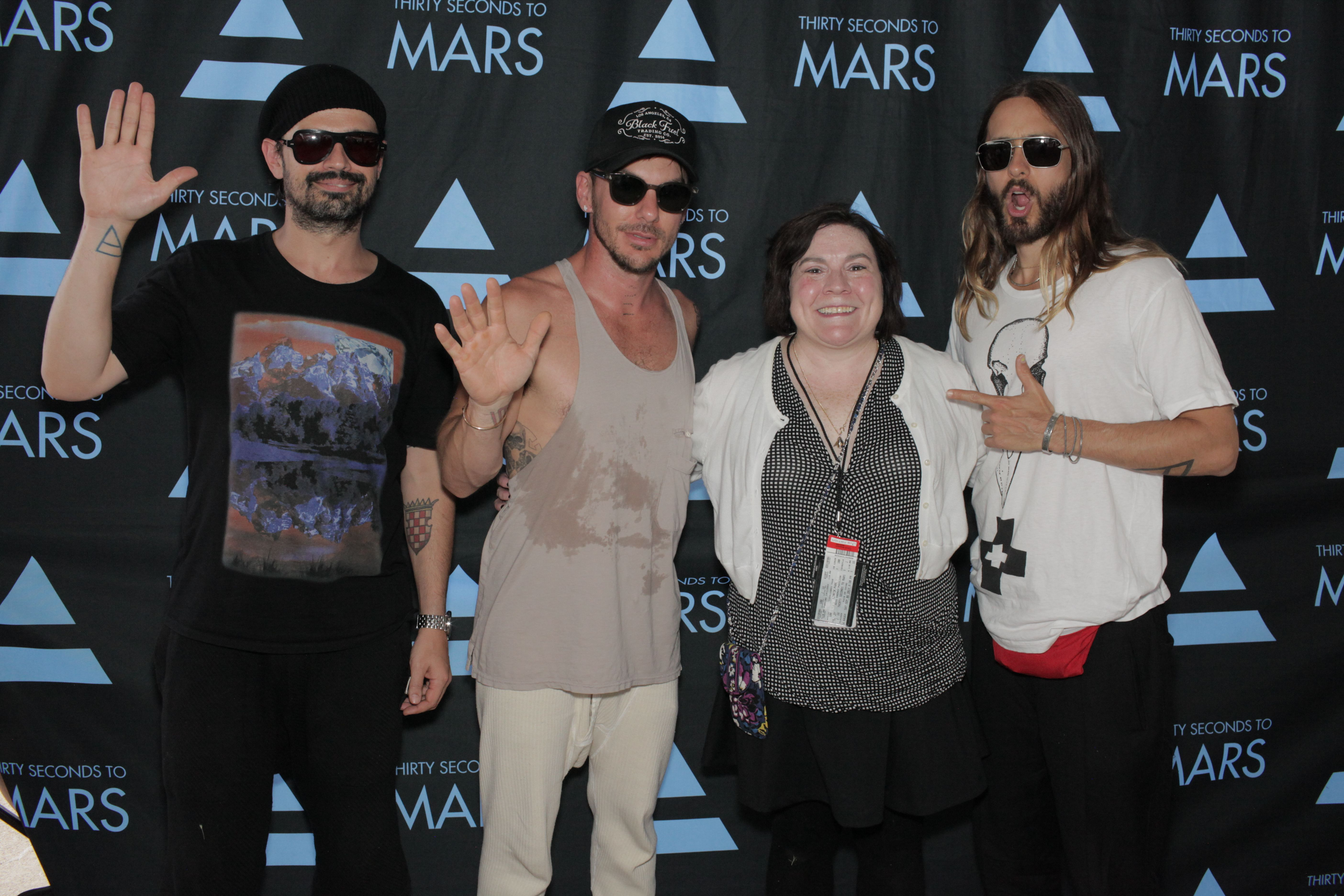 Vip meet greet with 30 seconds to mars 30 seconds to mars vip meet greet with 30 seconds to mars kristyandbryce Gallery