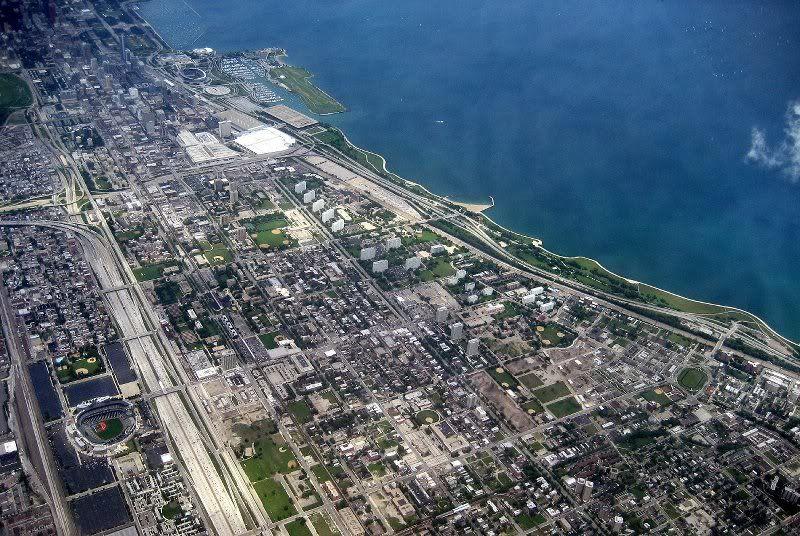 Chicago - Comisky Park bottom left