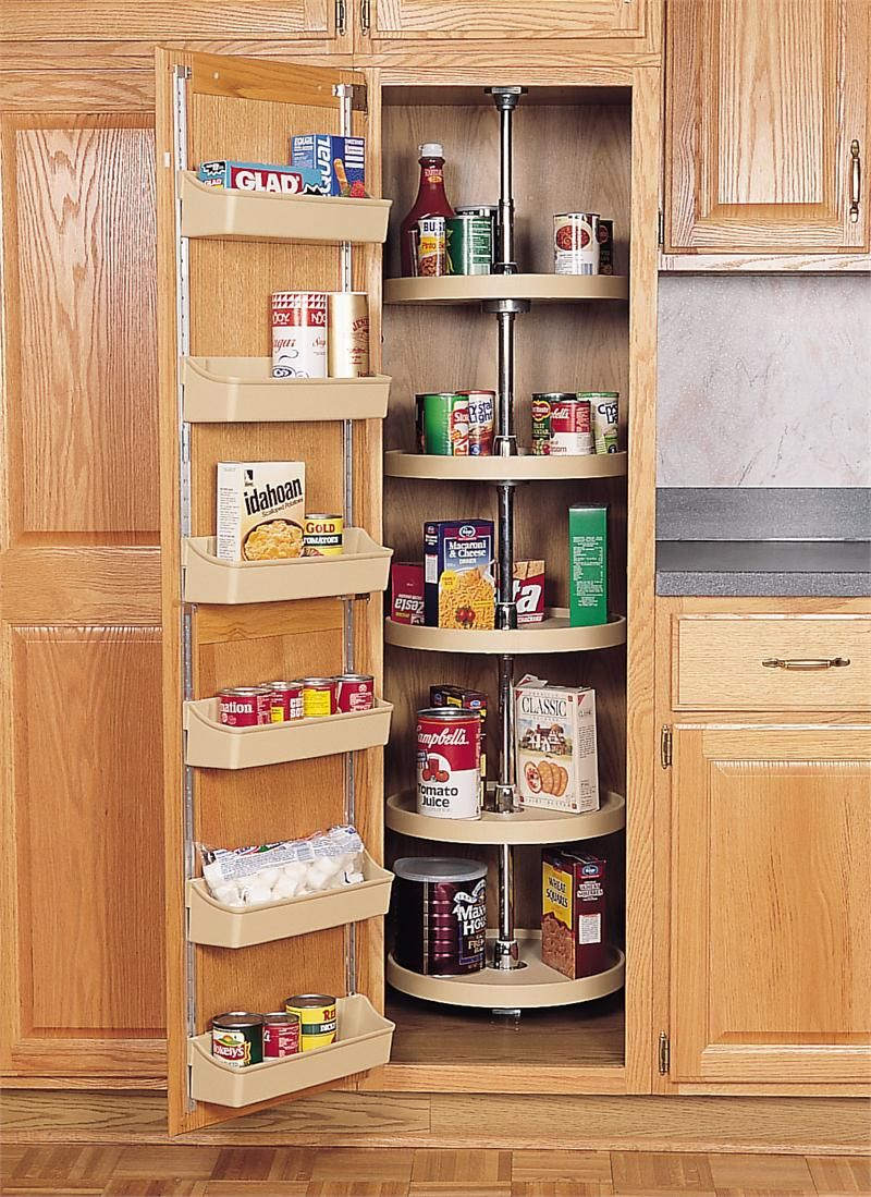 Rev A Shelf 18 Diameter Full Circle Pantry Cabinet Shelves 6065