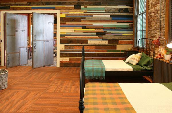 20 chambres avec un mur en bois de palette - Moderne House | Art ...