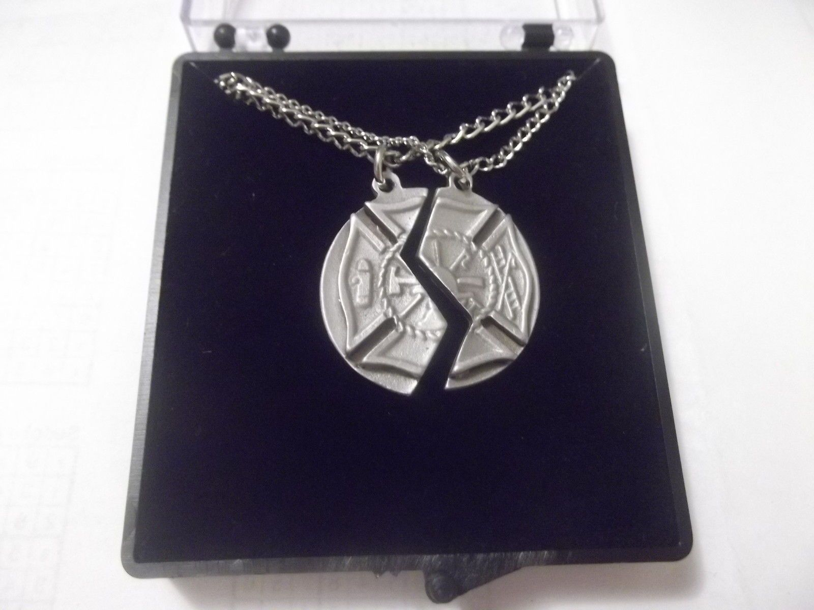 blessing sterling in firefighter prayer maltese new necklace cross pendant ideas silver with gift arrivals