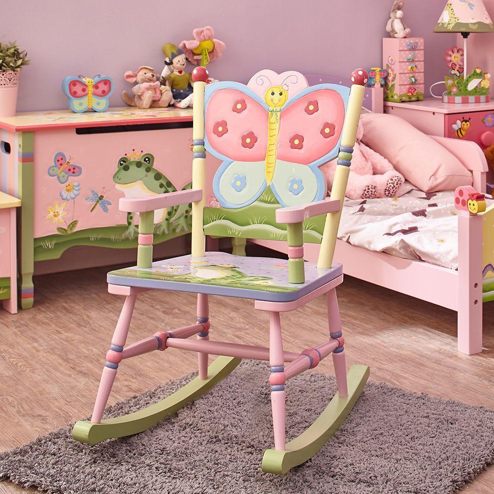 Magic Garden Table And Chair Set: Fantasy Fields Magic Garden Rocking Chair