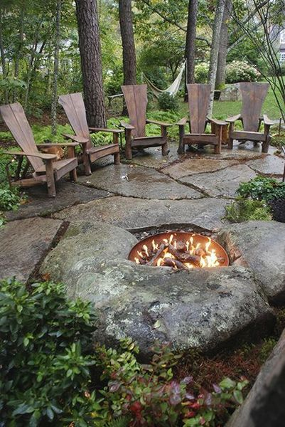 Small Fire Pit Patio Set: 20 Best DIY Fire Pit Ideas And Designs