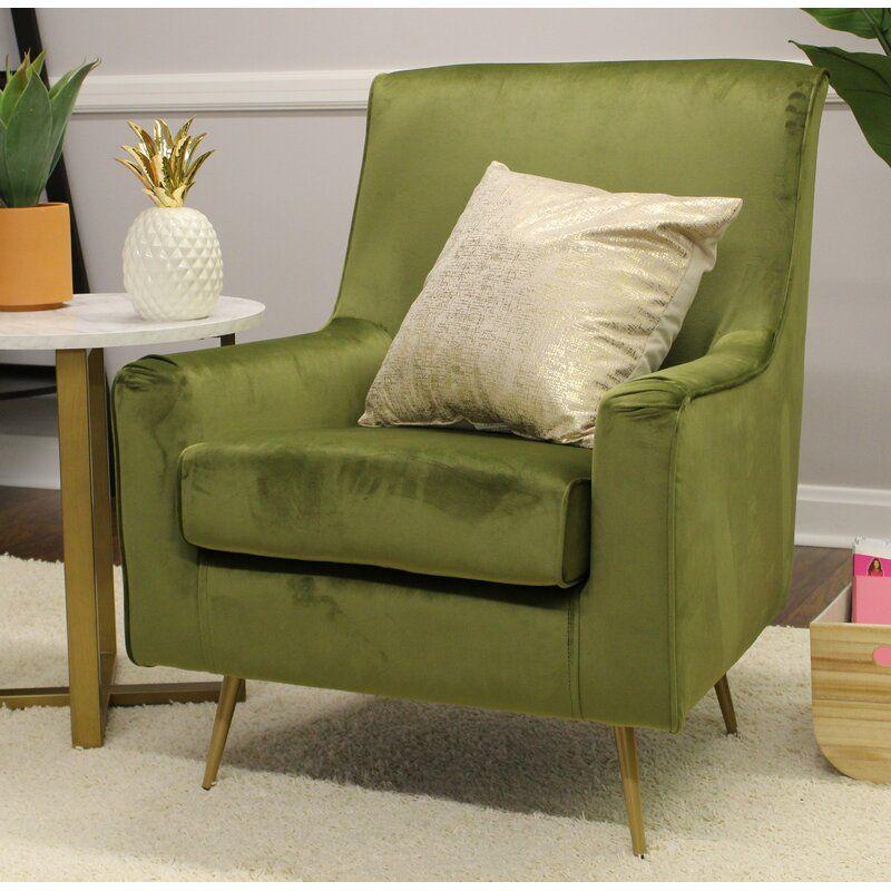 Mercer41 Hassler Armchair Wayfair Accent Chairs Furniture Green Accent Chair