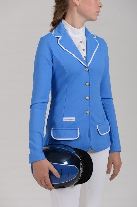 Eurostar dazzling blue show jacket | Dressage Clothing and Tack ...