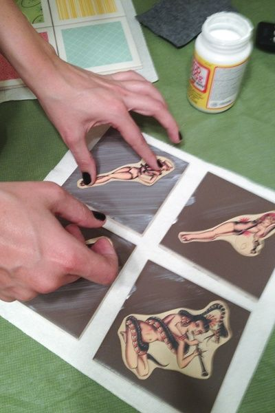 How To Create Coasters From Ceramic Tiles DIY Crafts Gifts - Create coasters from photos