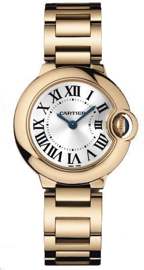 Cartier Ballon Bleu 18kt White Gold Ladies Watch We9003z3 With