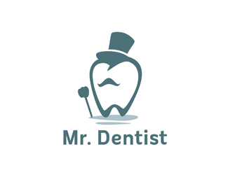 21 Inspiring Examples Of Tooth Logo Designbeep Teeth Logo Dental Logo Design Dentist Logo