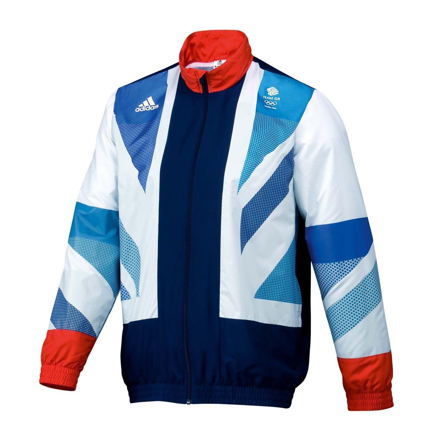 Team GB Adidas Olympic Jacket Two Shot Stella McCartney