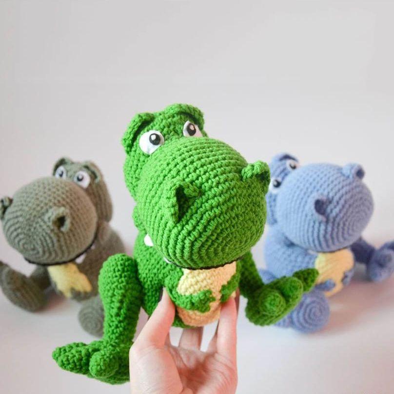 Rex crochet pattern - Free Pattern | dino & dragon | Pinterest ...