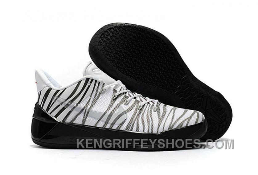 Cheap Nike Kobe A.D. 12 Zebra Black