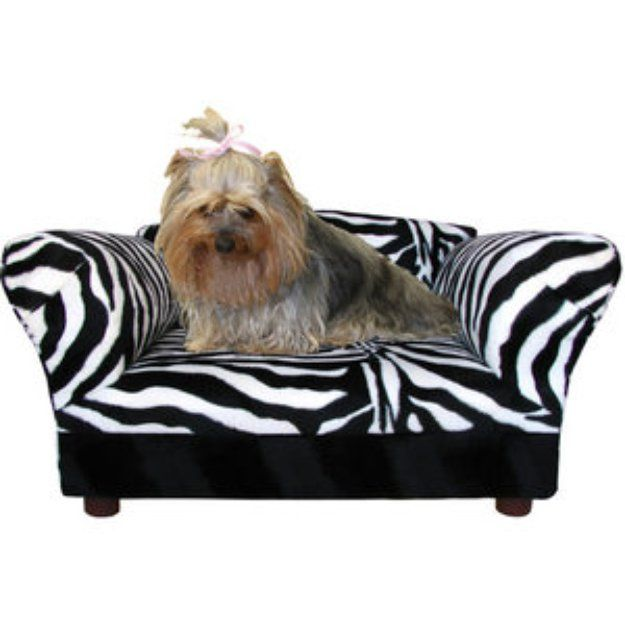 I M Learning All About Fantasy Furniture Homey Sofa In Leopard Stripe Small Color Dog Bedsofa