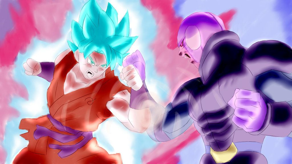 Goku Vs Hit Dragon Ball Super By Joazda Dragon Ball Super Dragon Ball Z Dragon Ball