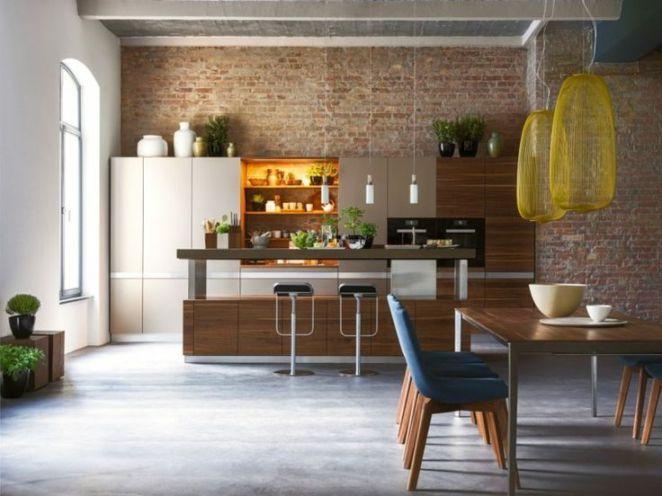 Idée relooking cuisine Cuisine ouverte moderne  quelques modèles de - deco maison cuisine ouverte