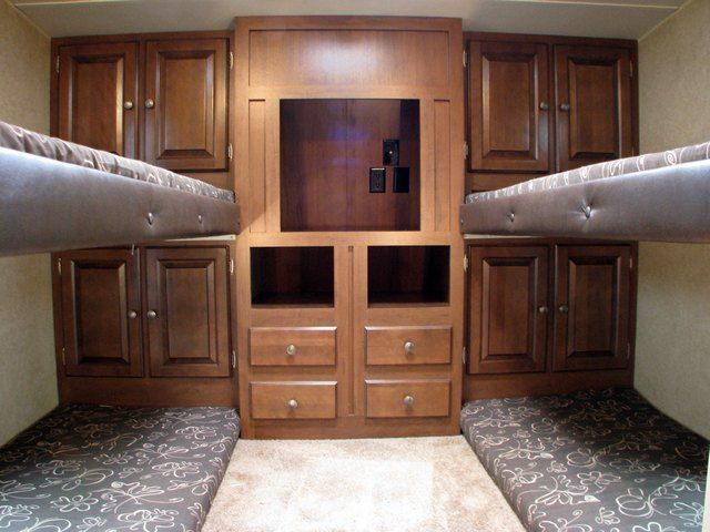 Rv Floor Plans With Bunk Beds With Images Rv Floor Plans