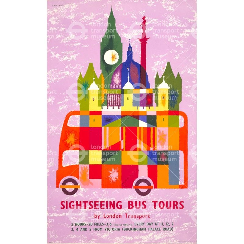 Sightseeing bus tours - Victor Galbraith (1960)