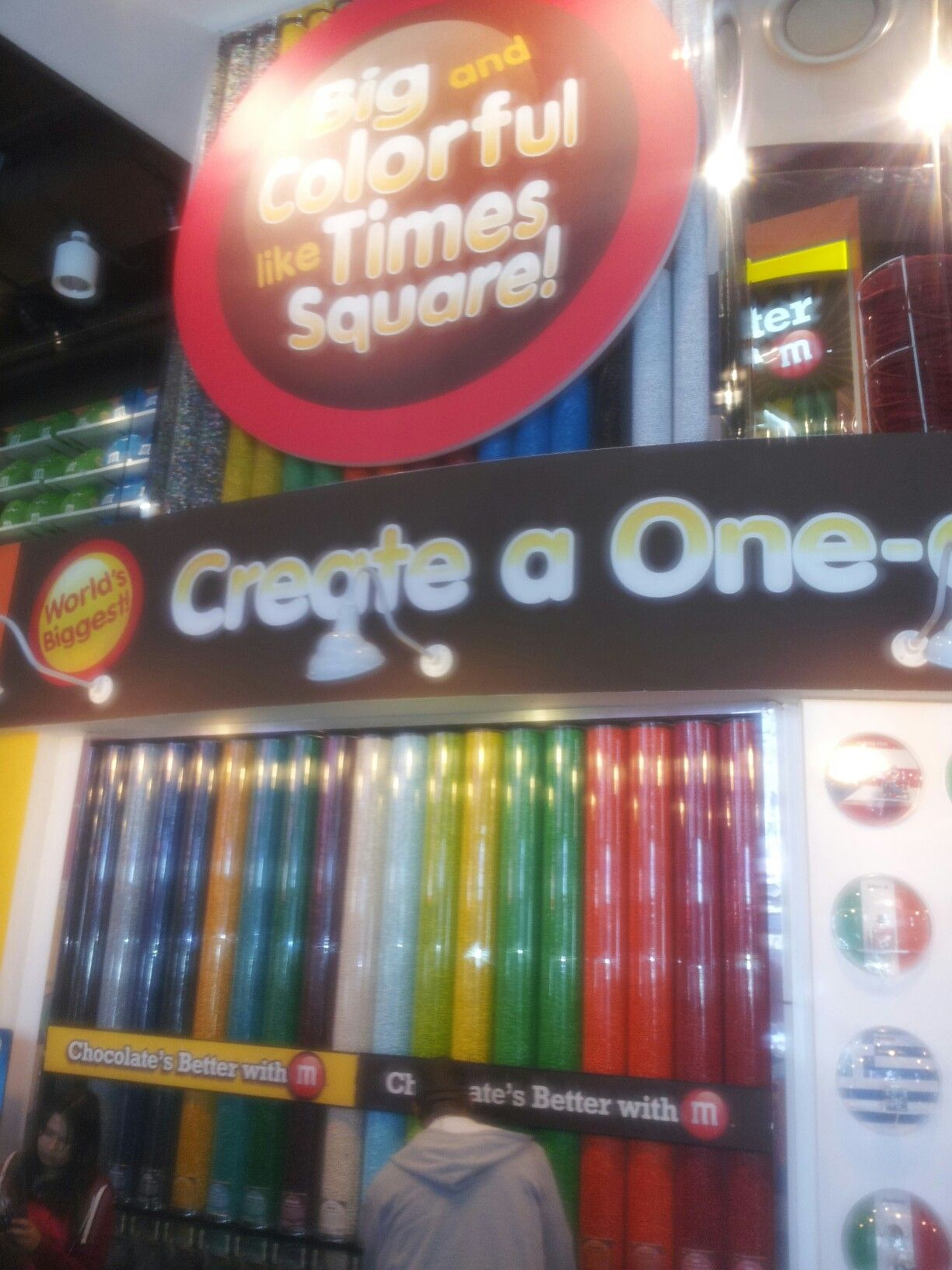 M&M store Times Square!🍬 M & m store, Square, Eating well