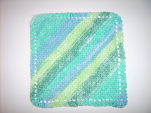 My Favorite Knit Dishcloth - The Make Your Own Zone ...