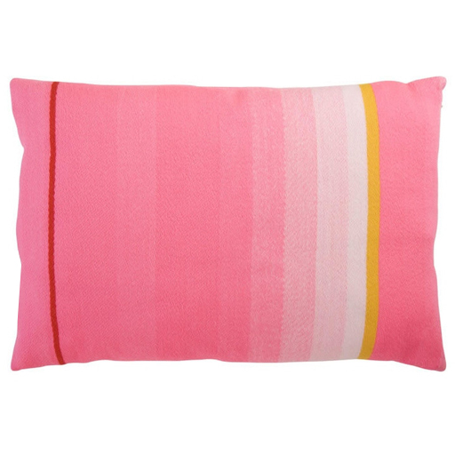 Multi Pink Stripe Pillow