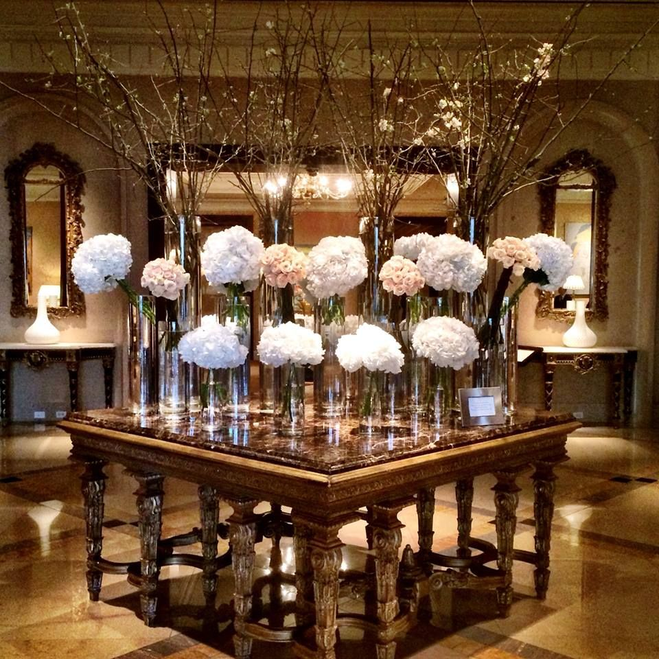 Quot Lobby Look Quot At Ritz Carlton Dallas Flowers By Bella