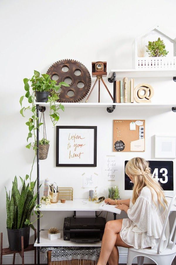 Image result for lifestyle vintage home office