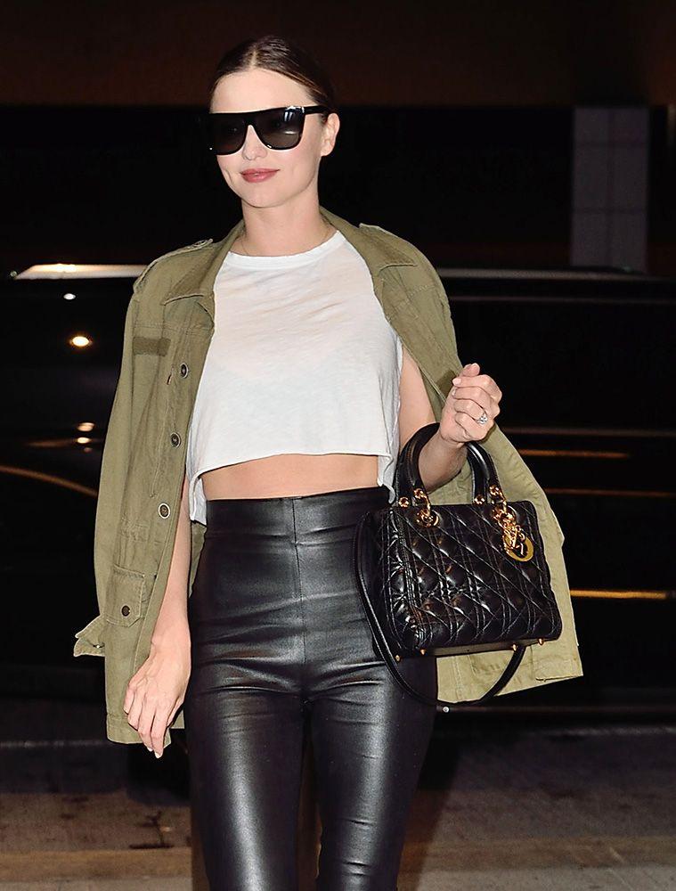 Miranda Kerr Dior Lady Bag