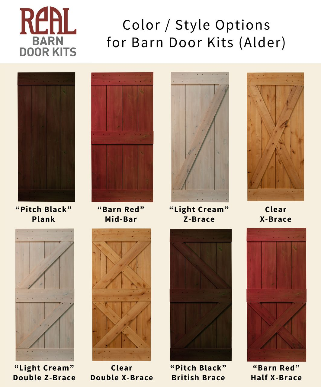 Real Sliding Hardware Rustic Alder Barn Door 56000 Httpwww
