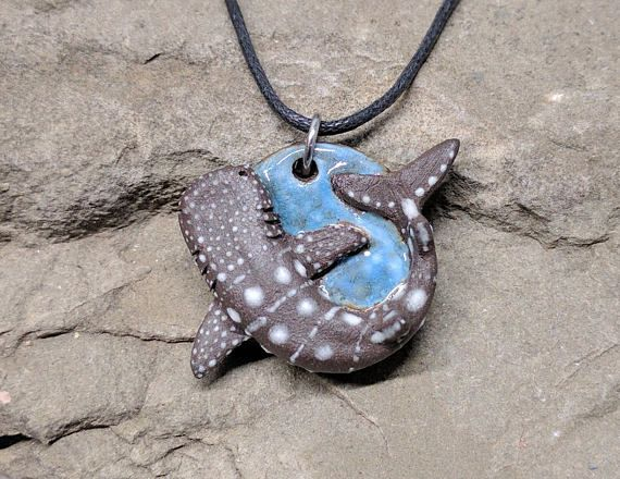 Whale shark pendant shark necklace shark jewelry shark lover whale shark pendant shark necklace shark jewelry shark aloadofball Gallery