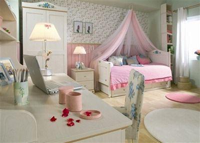 ejemplos de dormitorios infantiles para nias