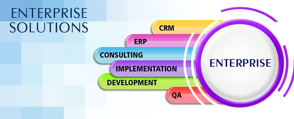 We Offer Excellent Enterprise Solutions That Help You Drive Your Business In The Best P Enterprise Application Business Systems Information Technology Services