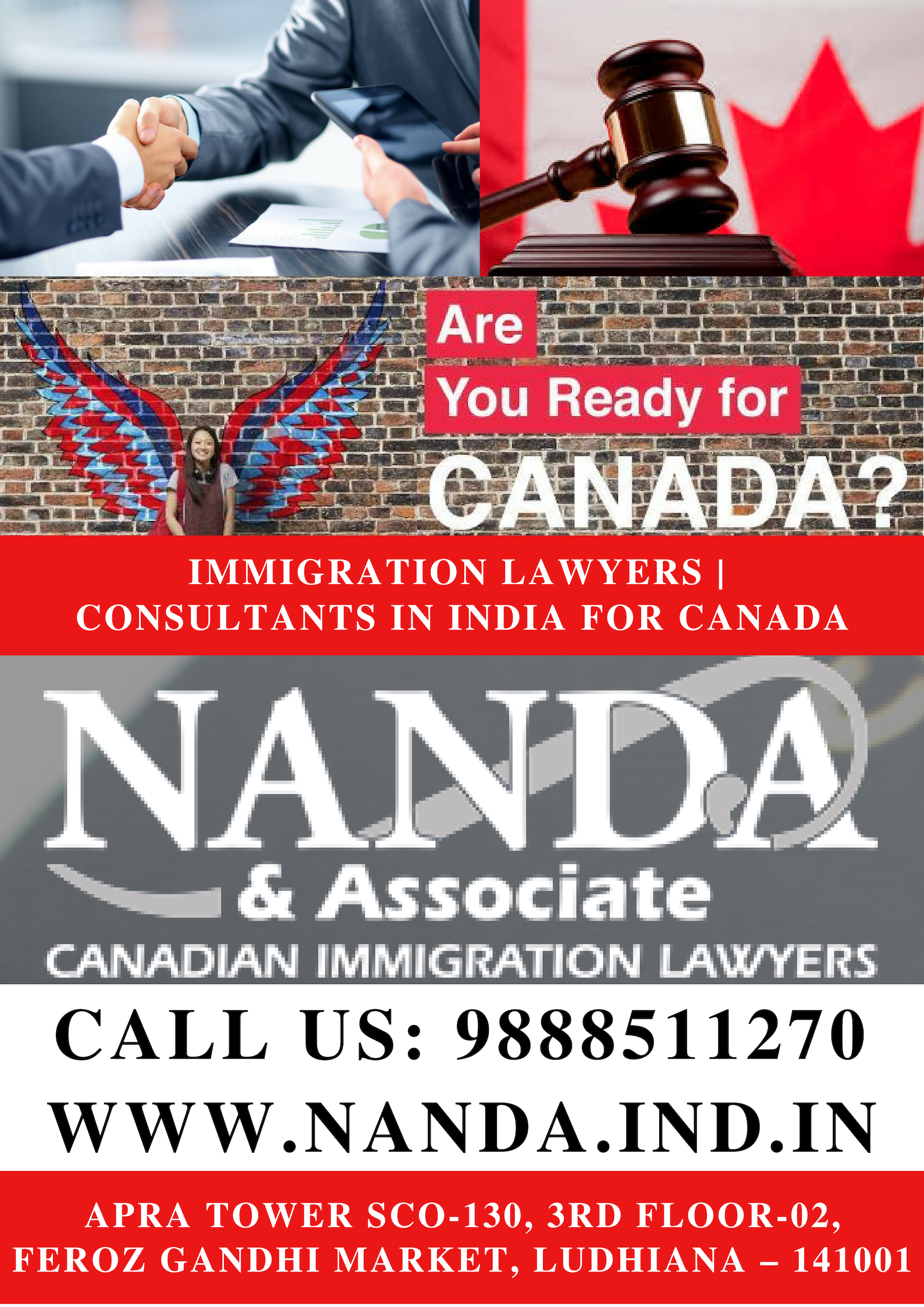 Are You Looking For Trusted And Reliable Immigration Lawyers Consultants In India For Canada Nanda Associate Immigration La Coaching Ielts Canada