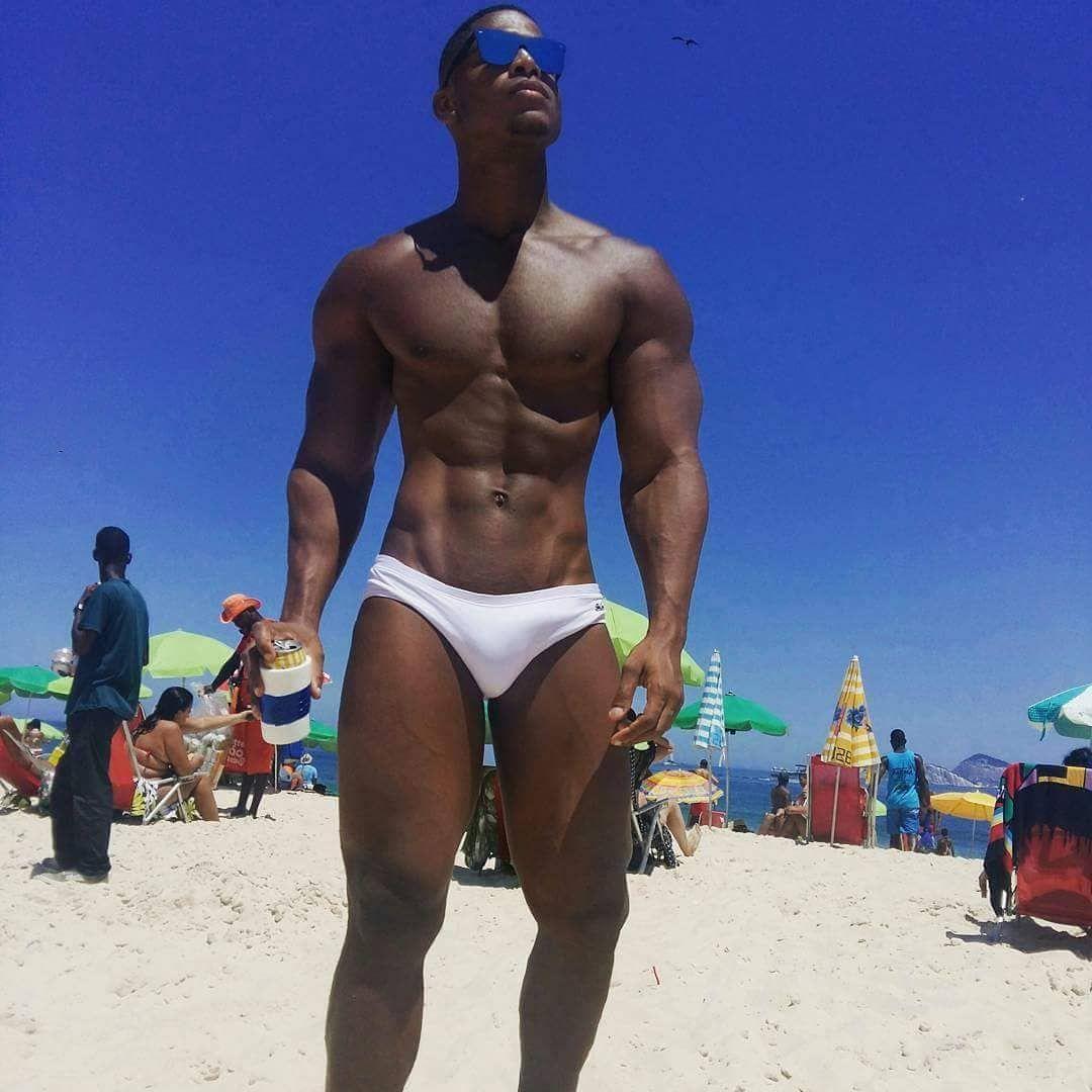 Beach black gay